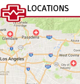 pasadena urgent care clinic locations