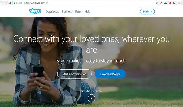 How to download skype   digital unite.
